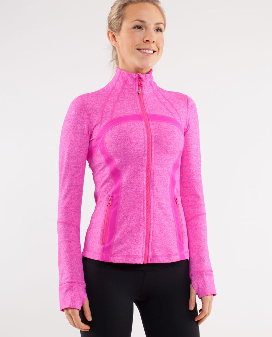 Lululemon Define Jacket - Heathered Paris Pink /  Paris Pink