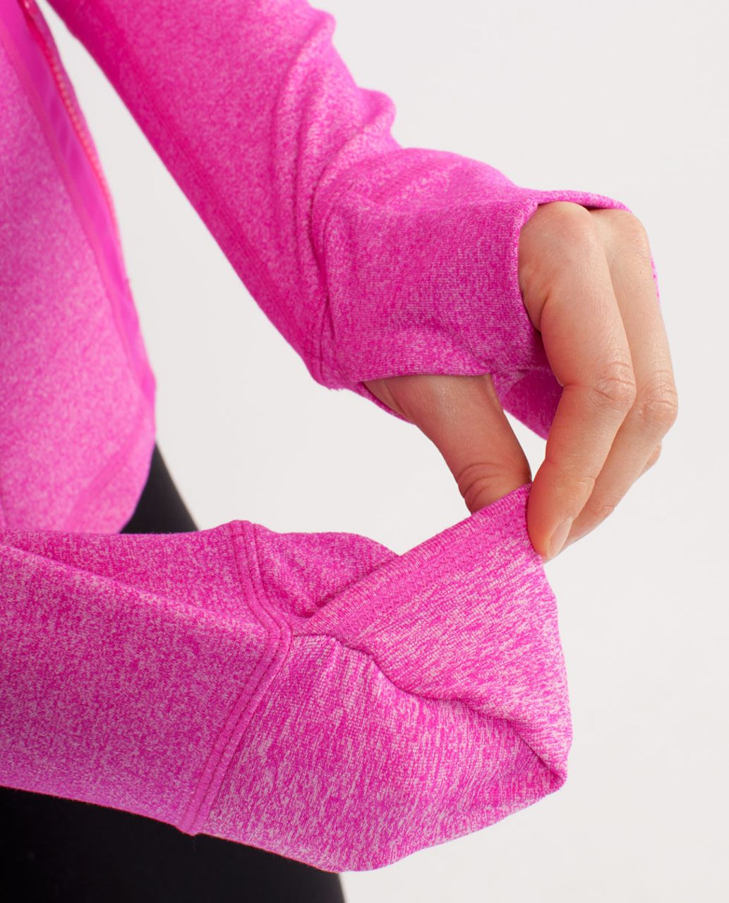 Lululemon Define Jacket - Heathered Paris Pink /  Paris Pink