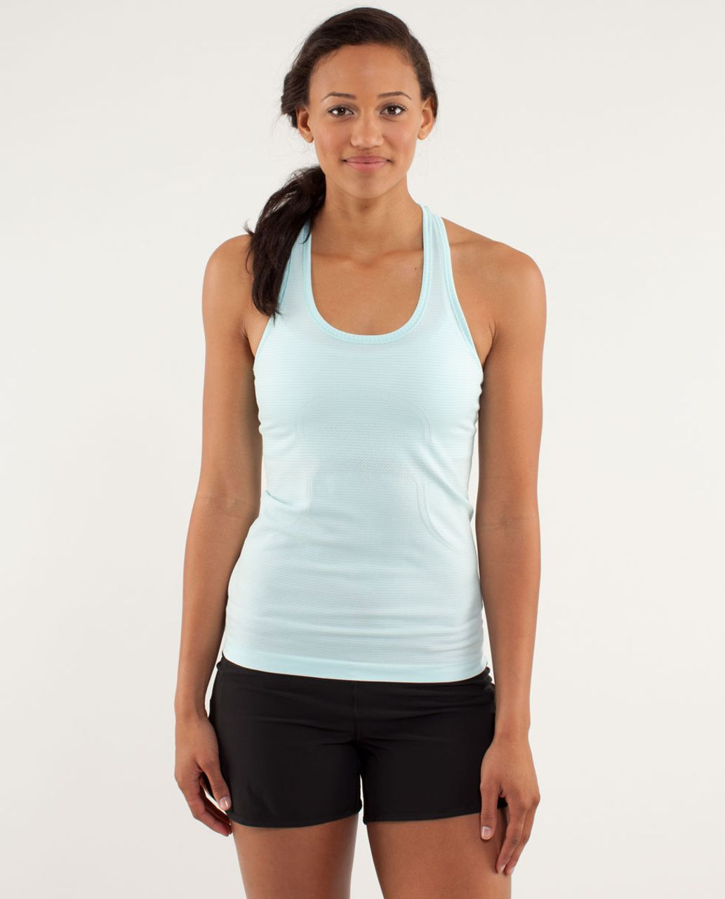 Lululemon Run:  Swiftly Racerback - Aquamarine