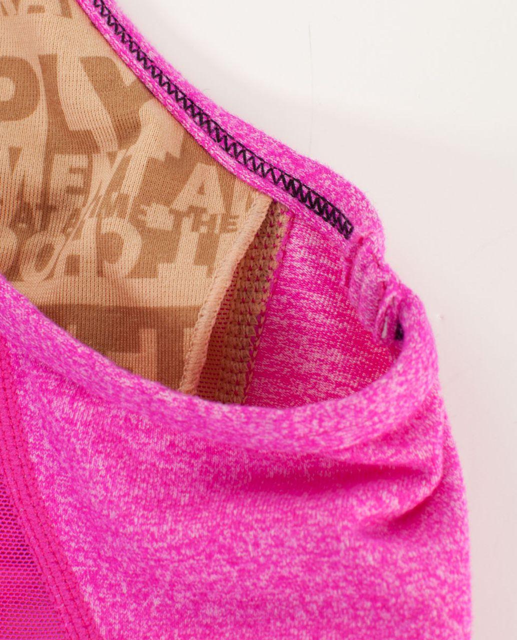 Lululemon Flow Y Bra IV - Heathered Paris Pink