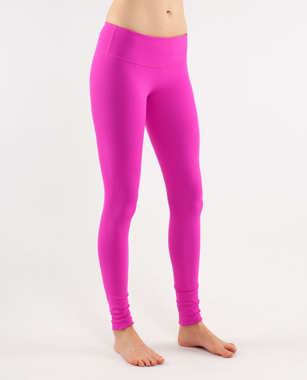 Lululemon Wunder Under Pant *Reversible - Black /  Paris Pink