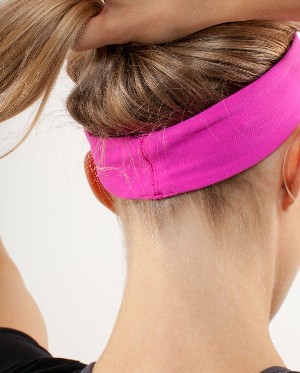 Lululemon Lucky Luon Headband - Paris Pink