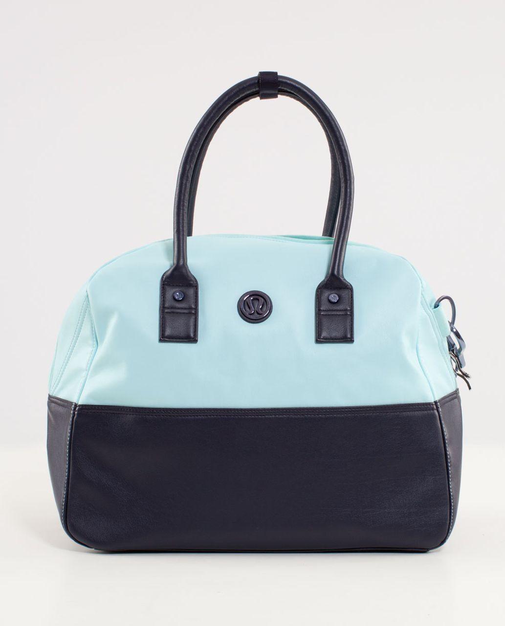 Lululemon Daily Gym Bag Aquamarine Deep Indigo