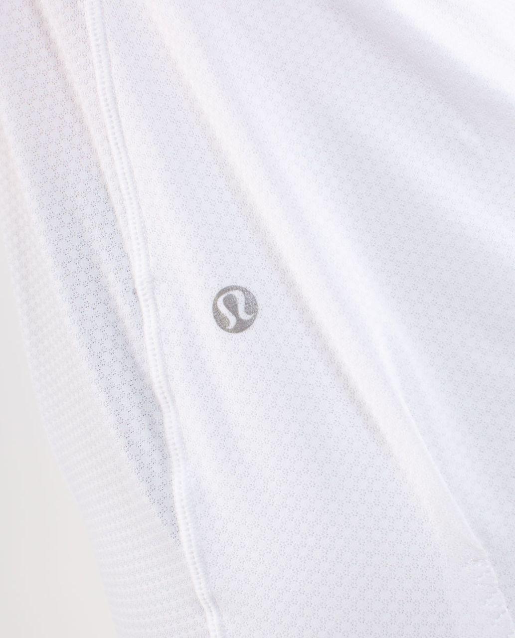 Lululemon Flow and Go Tank - White