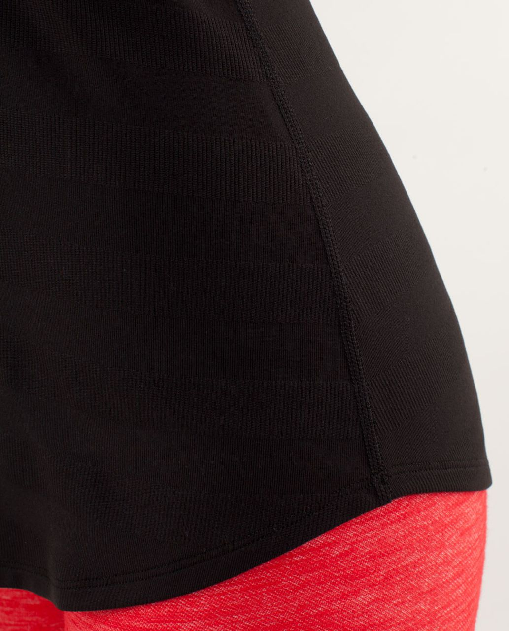 Lululemon Cool Racerback *Striped Rib - Black