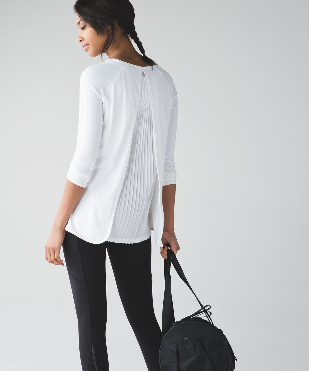 Lululemon Making Moves Long Sleeve - White