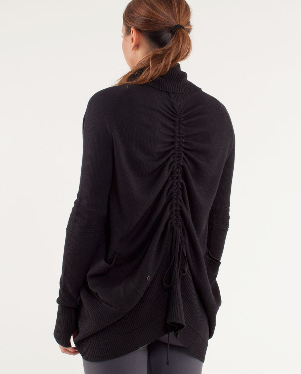 Lululemon Transformation Wrap - Black /  Coal
