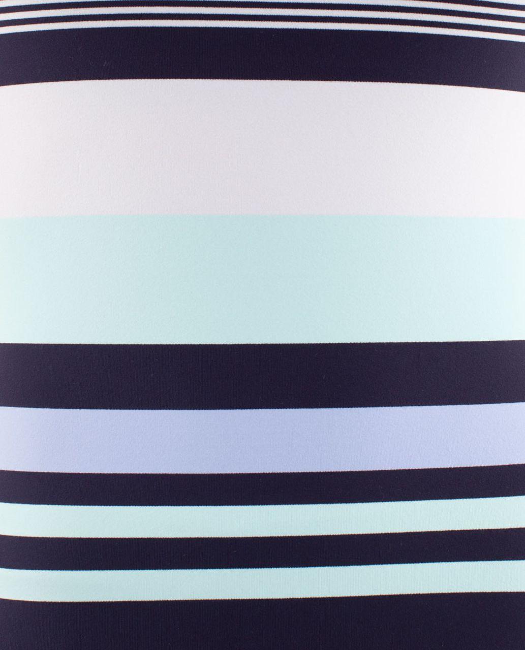 Lululemon Power Y Tank - Discover Stripe White Deep Indigo /  Deep Indigo