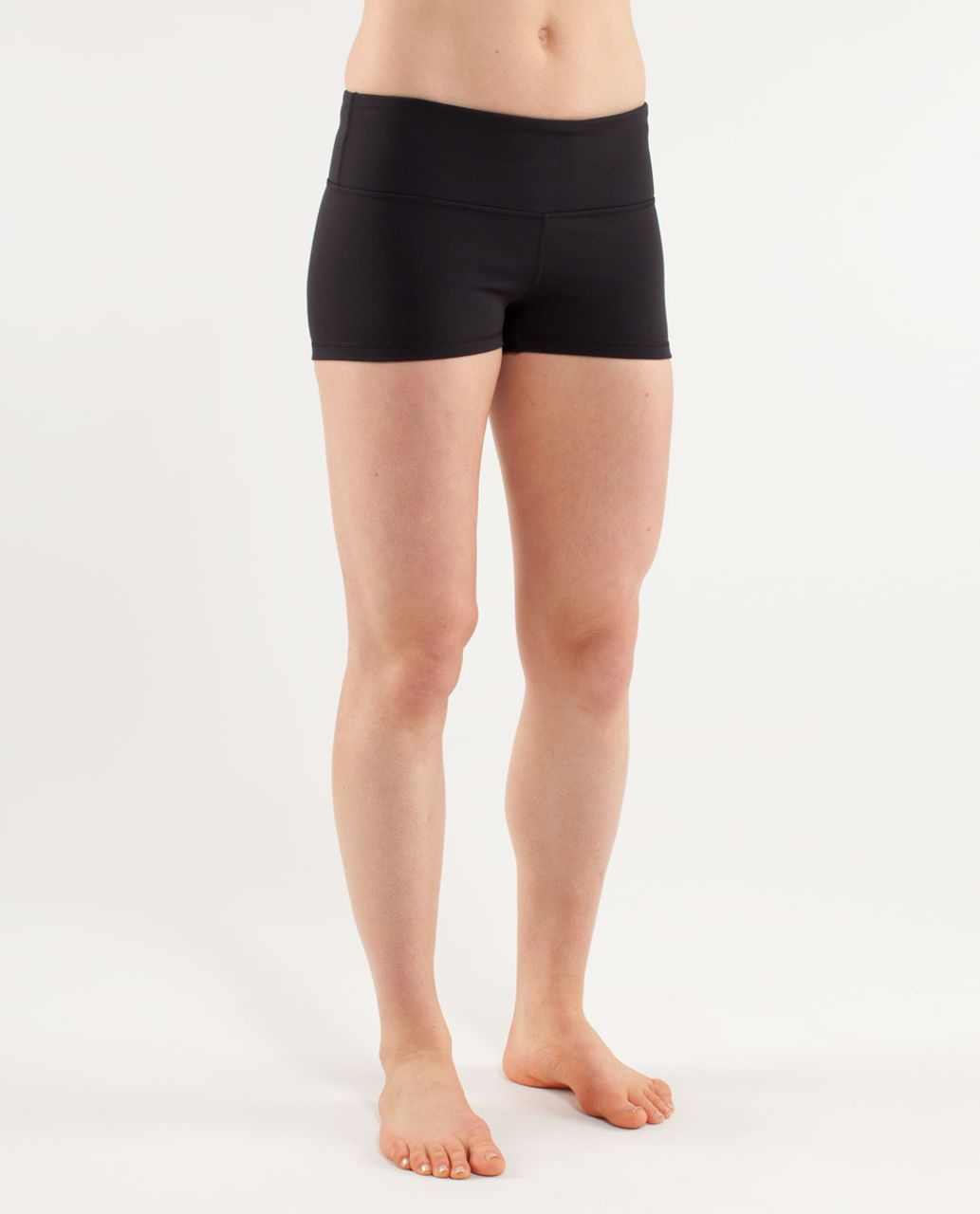 Lululemon Boogie Short *Silver - Black