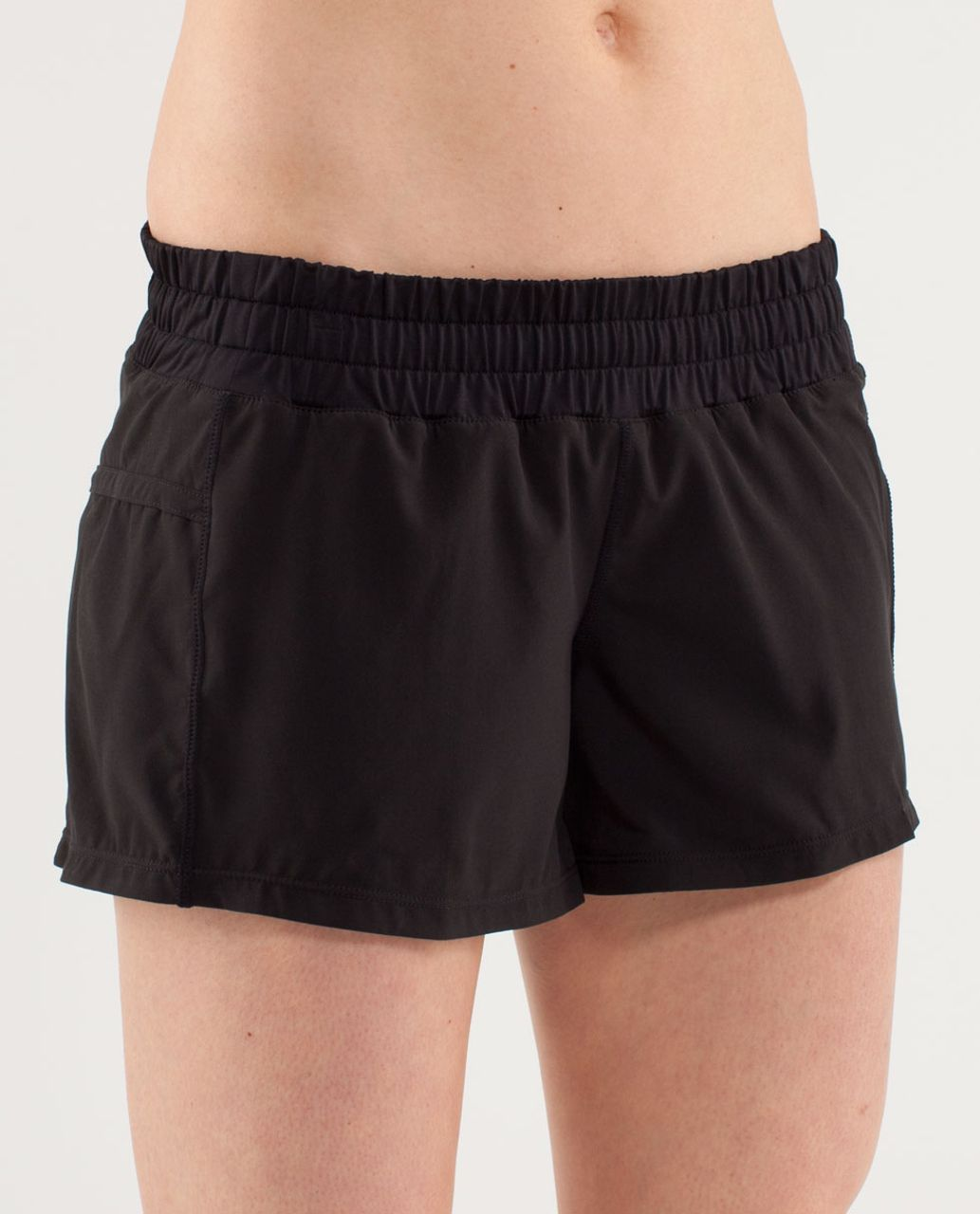 Lululemon Run:  Tracker Short II - Black