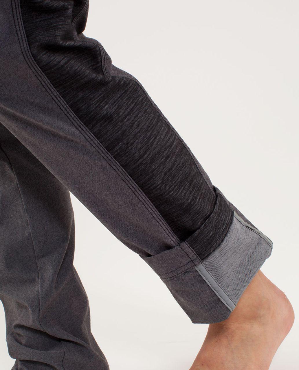 Lululemon Ride On Pant - Black /  Fossil