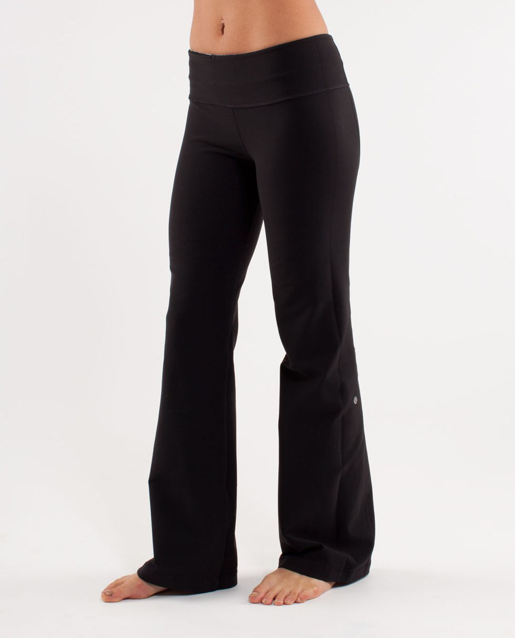 Lululemon Groove Pant (Regular) - Black /  Wee Are From Space Coal Fossil /  Fossil