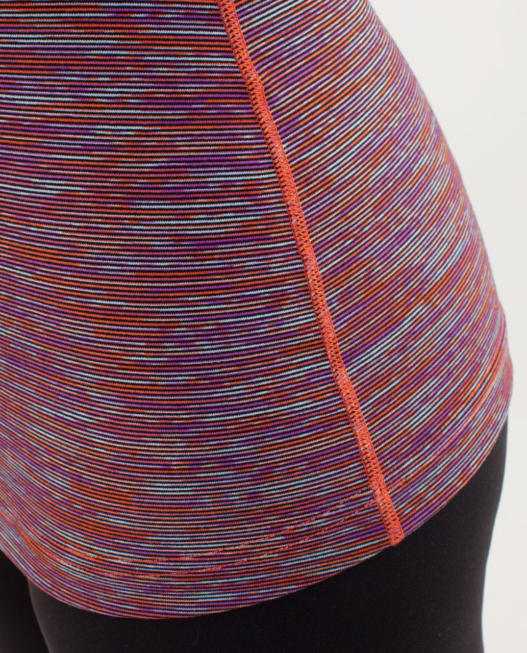 Lululemon Cool Racerback - Wee Are From Space Black March Multi