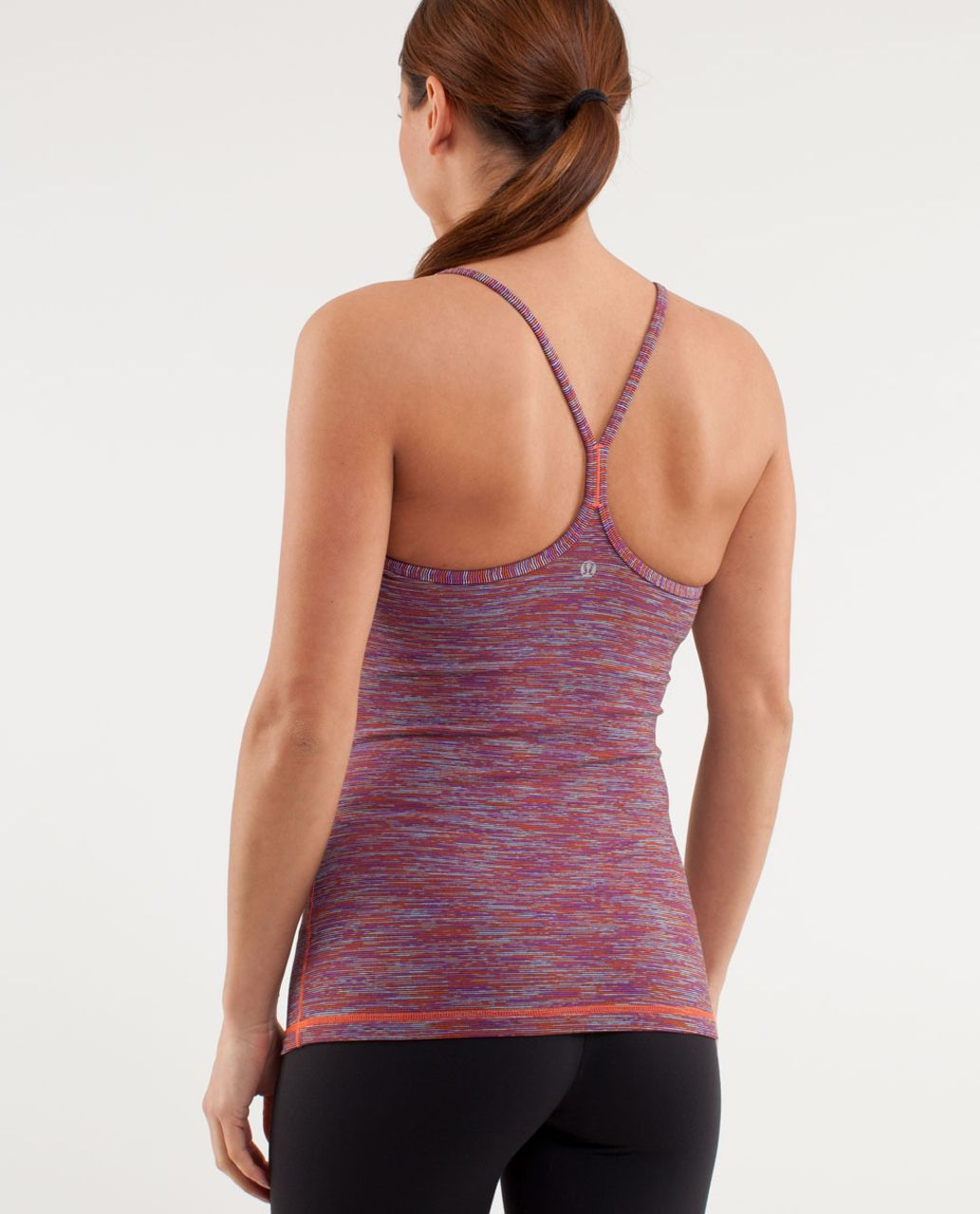 Lululemon Power Y Tank - Wee Are From Space Black March Multi