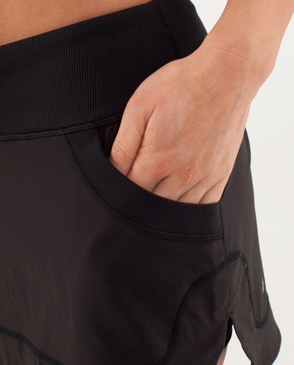 Lululemon Run:  For All Skirt - Black