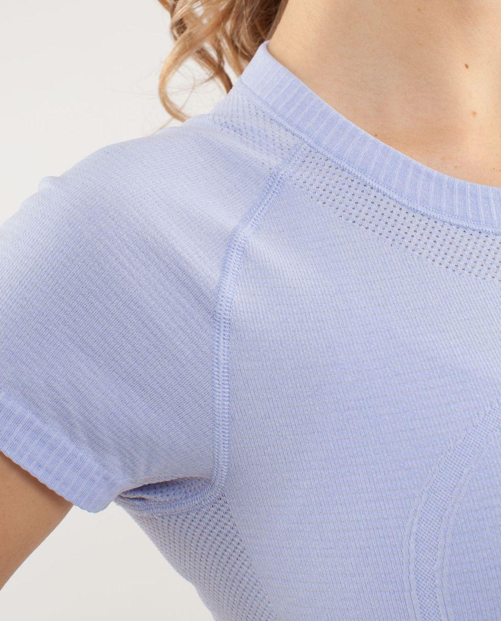 Lululemon Run:  Swiftly Tech Short Sleeve - Lavender Dusk
