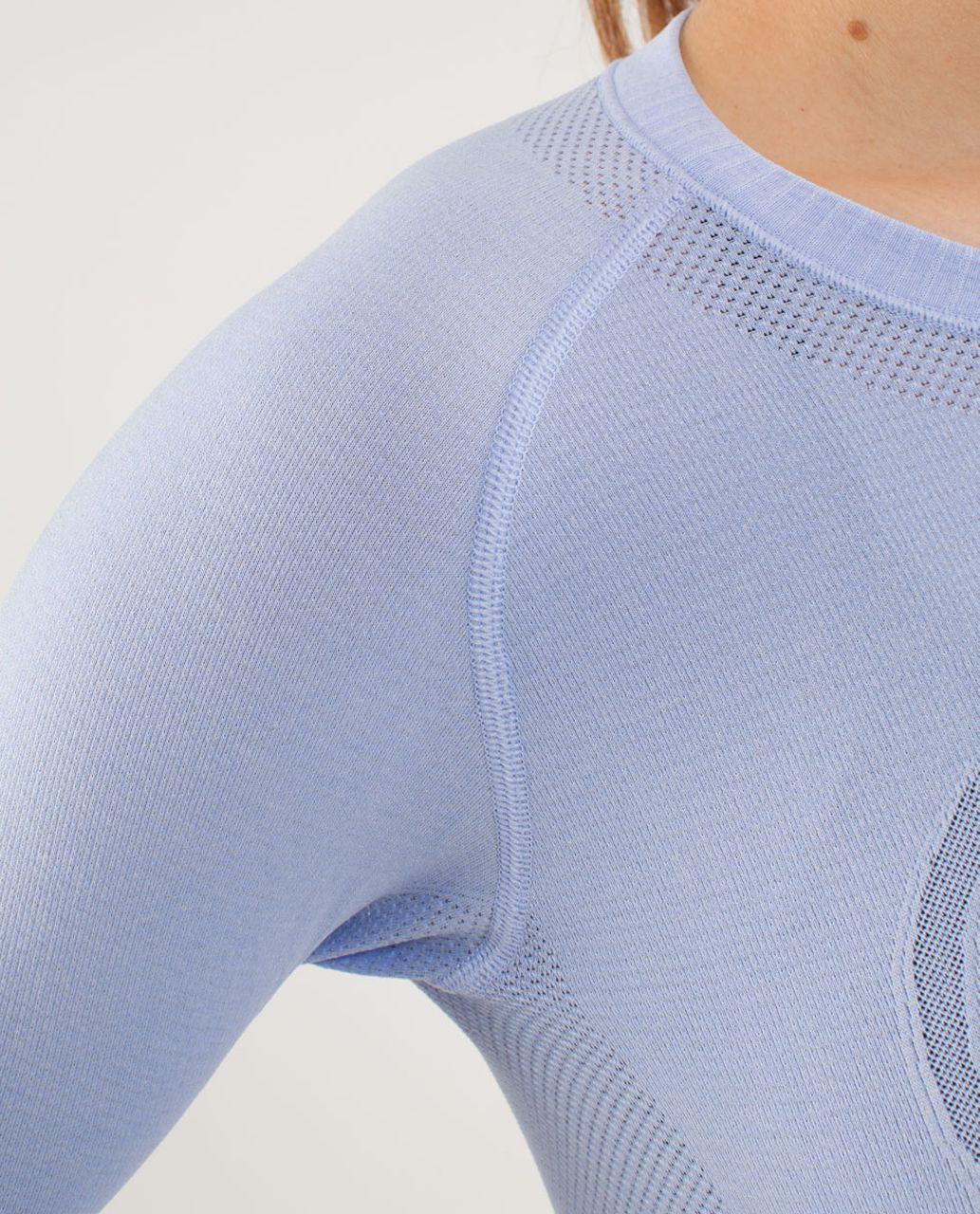 Lululemon Run:  Swiftly Tech Long Sleeve - Lavender Dusk