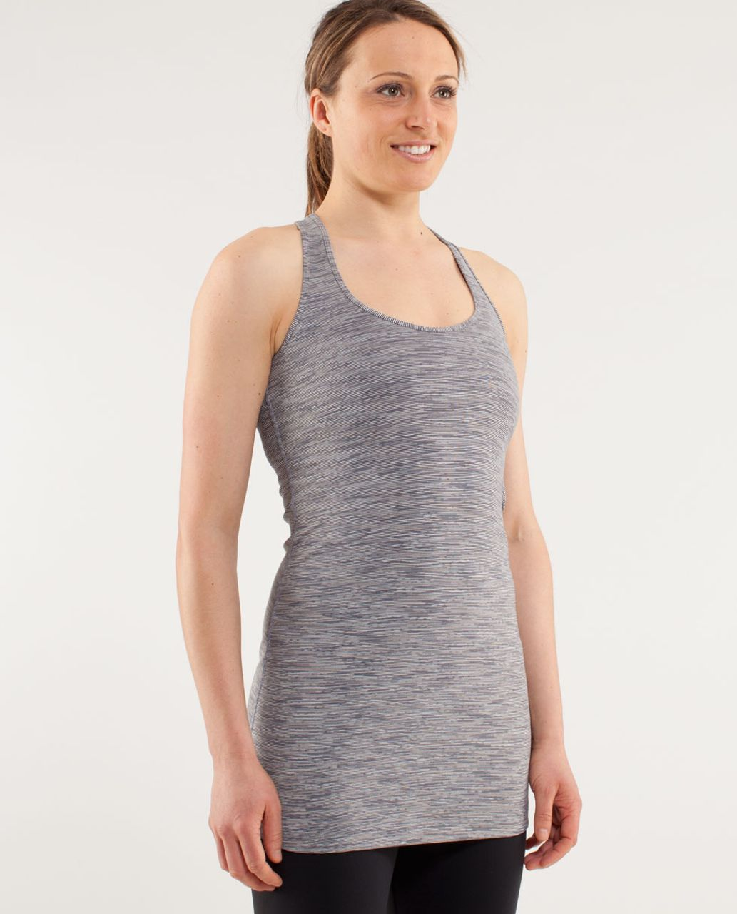 Lululemon Cool Racerback *Extra Long - Wee Are From Space Coal Fossil