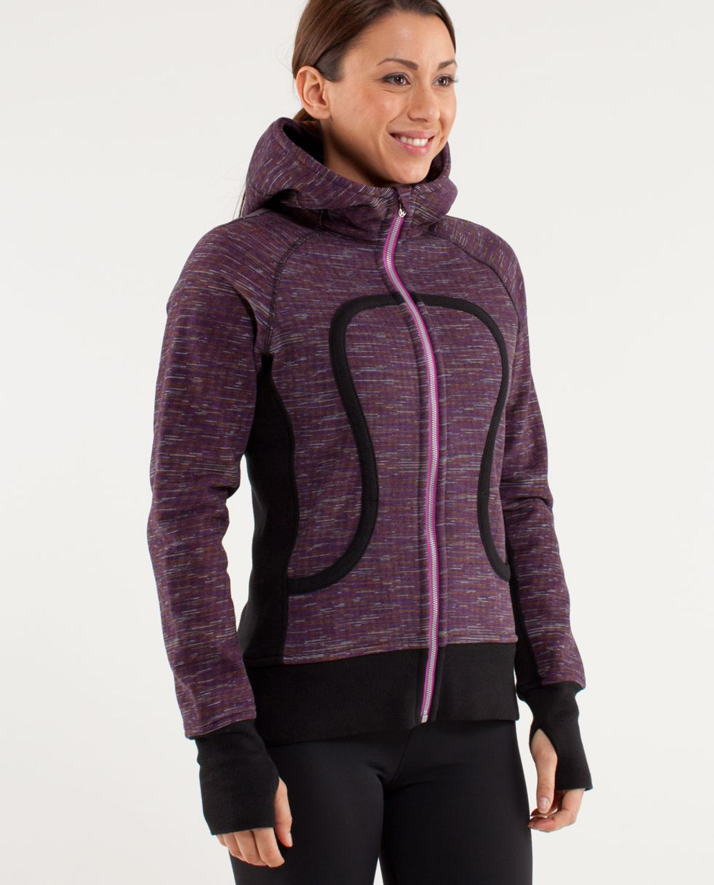 Lululemon Scuba Hoodie *Print - Wee Are From Space Black March Multi