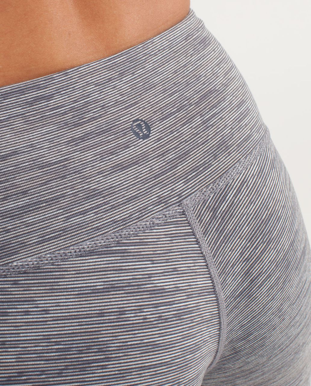 Lululemon Wunder Under Crop *Special Edition - Wee Are From Space Coal Fossil