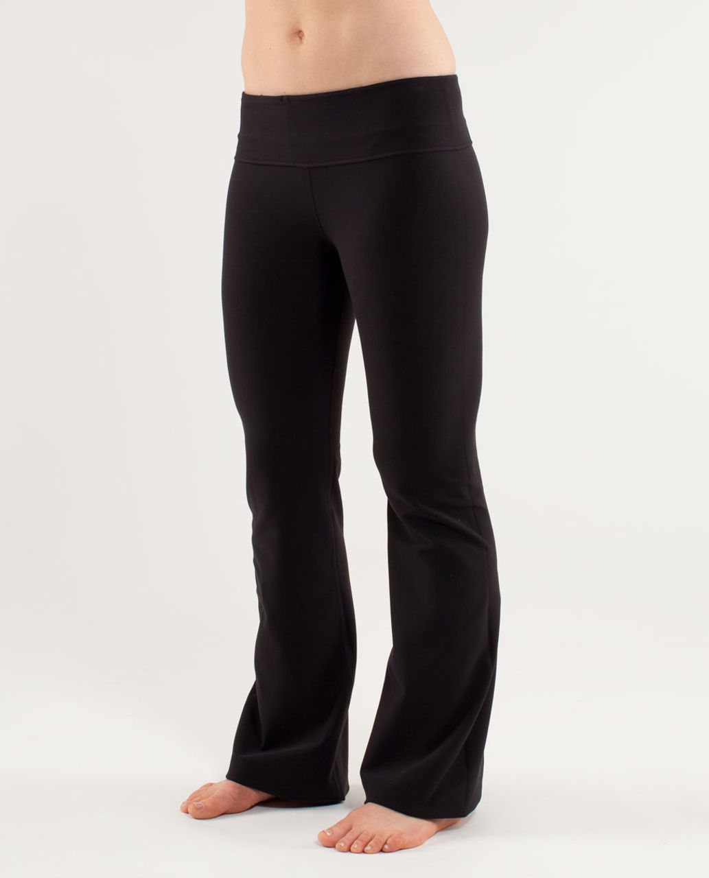 Lululemon Groove Pant (Regular) - Black /  Quilting Spring 18 /  Heathered Dune