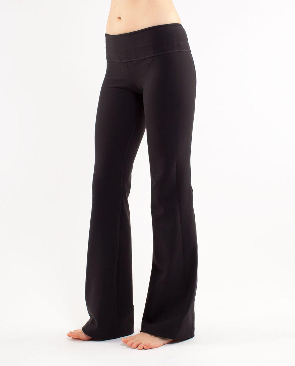 Lululemon Groove Pant (Regular) - Black /  Heathered Fossil /  Quilting Spring 16