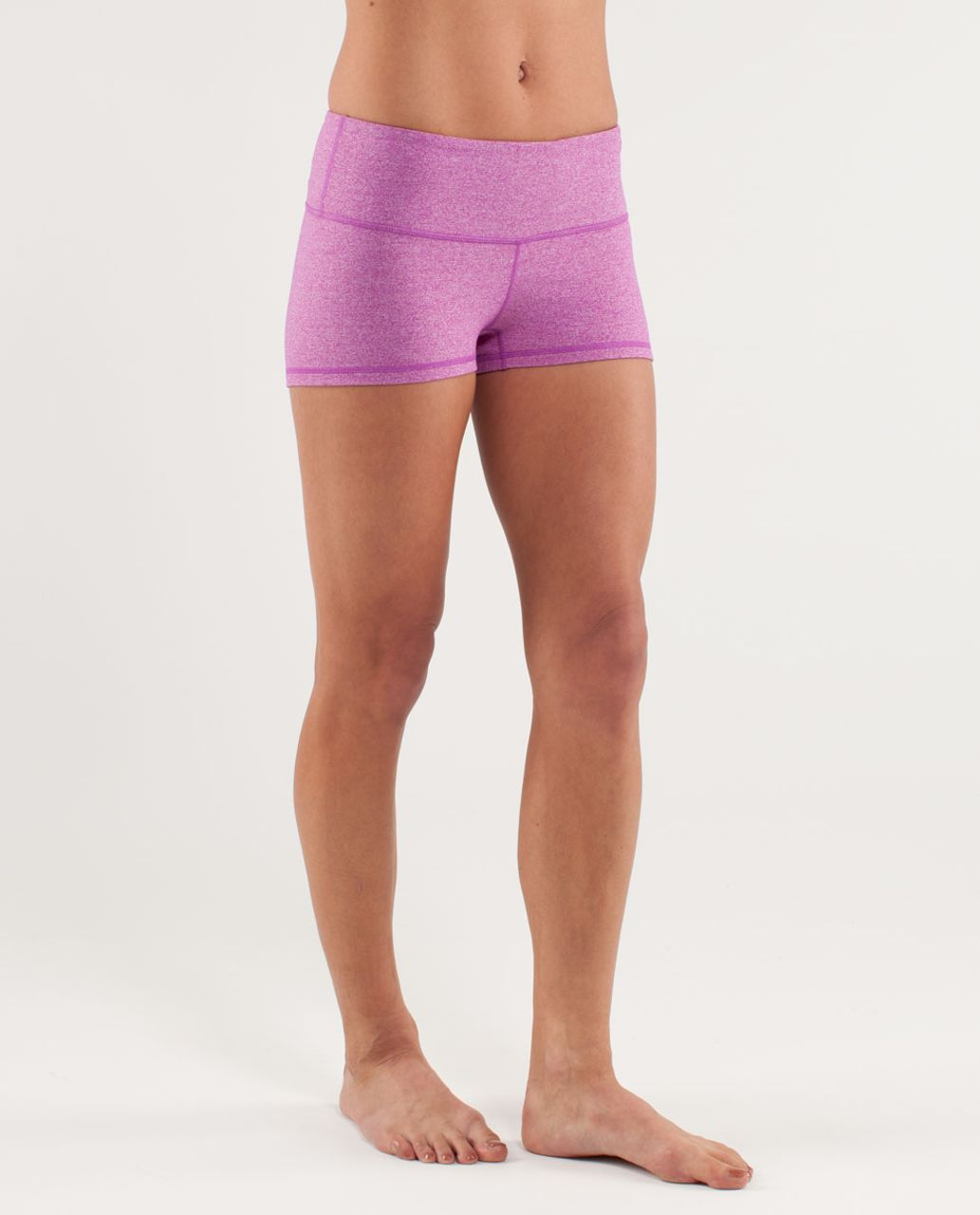 Lululemon Boogie Short - Heathered Ultra Violet