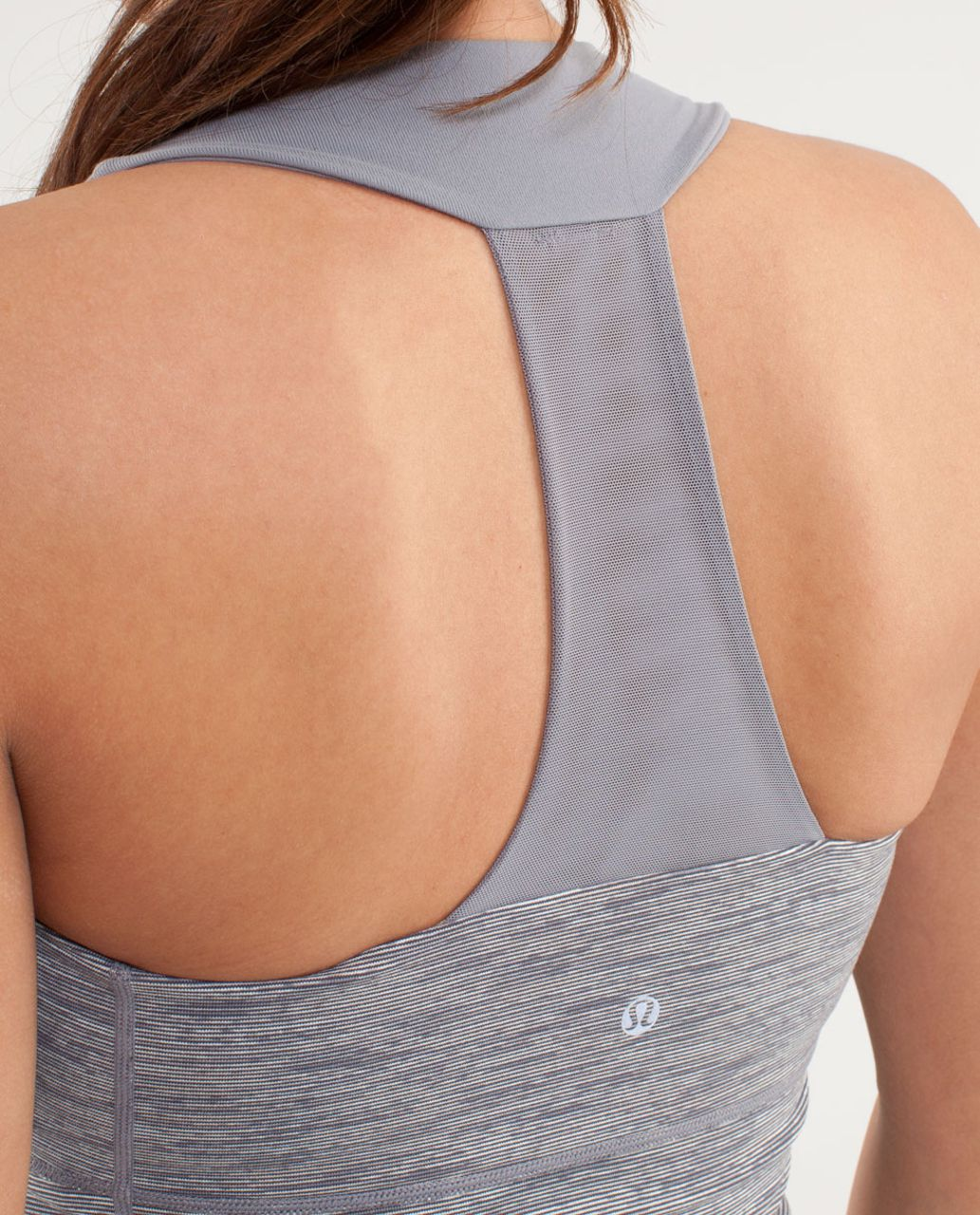 Lululemon Scoop Neck Tank - Wee Are From Space Coal Fossil /  Fossil