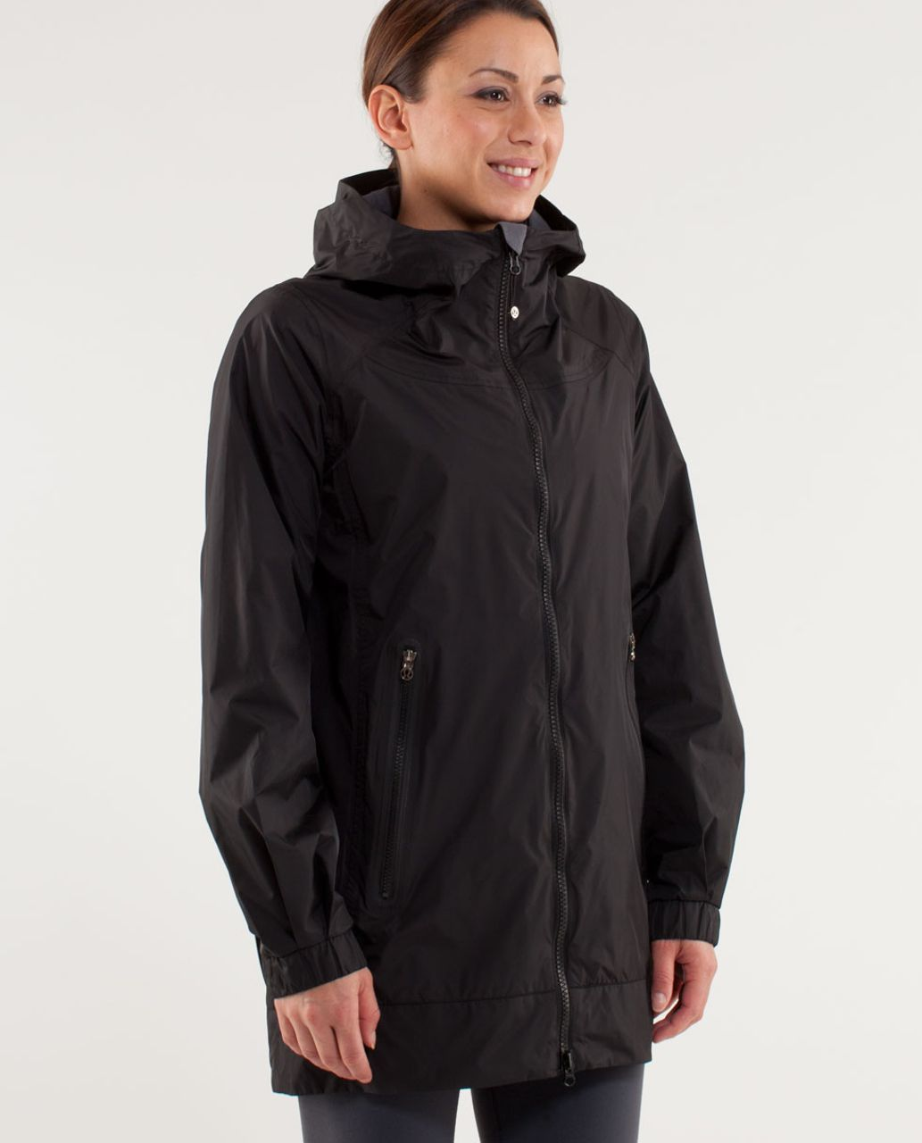 Lululemon No Rain No Gain Jacket Black Lulu Fanatics