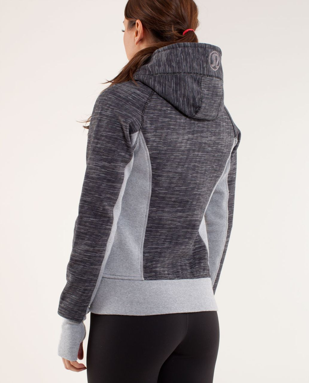 Lululemon Scuba Hoodie *Print - Wee Are From Space Black Combo