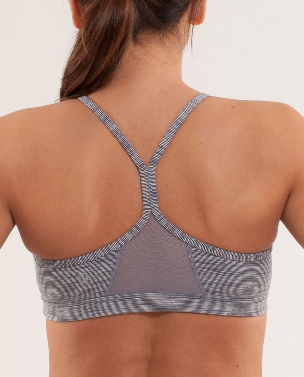 Lululemon Flow Y Bra IV - Wee Are From Space Coal Fossil