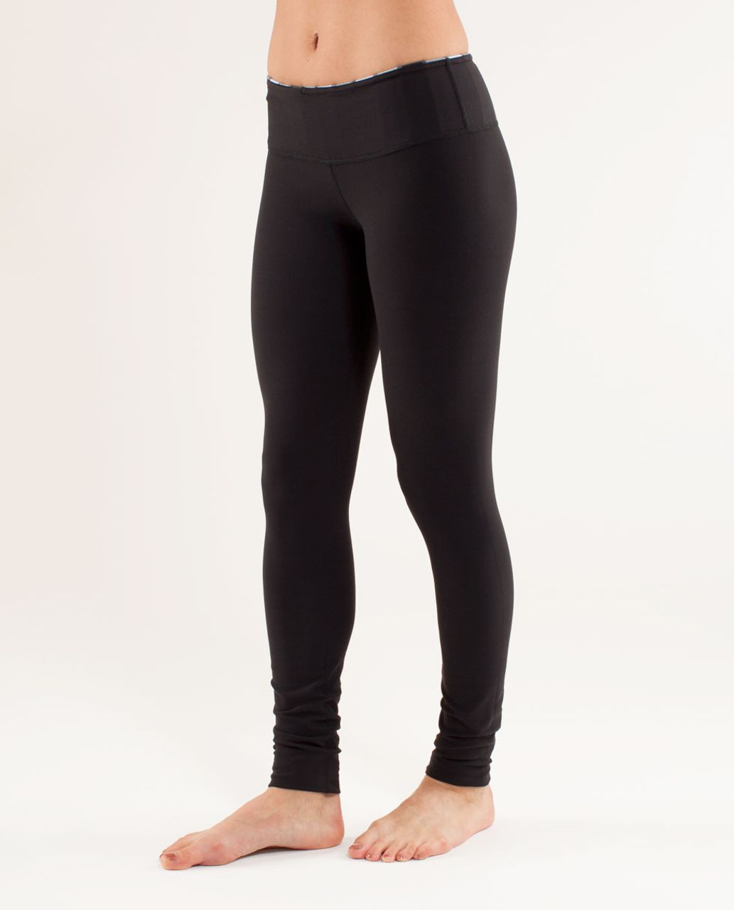 Lululemon Wunder Under Pant - Black /  Quilting Spring 29