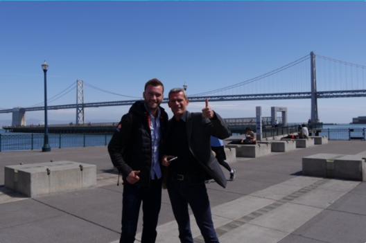 Thomas and Sebastien in San Francisco USA