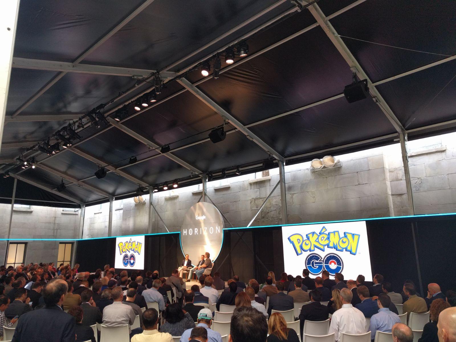 Google Horizon conference about Pokemon Go