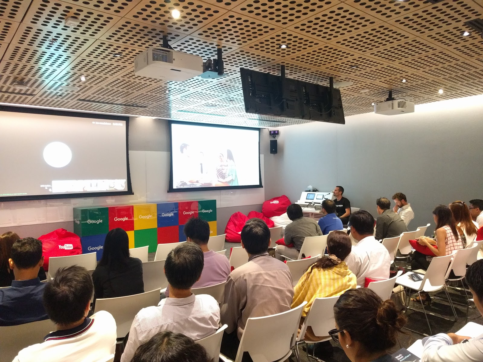 LumApps presentation in Bangkok