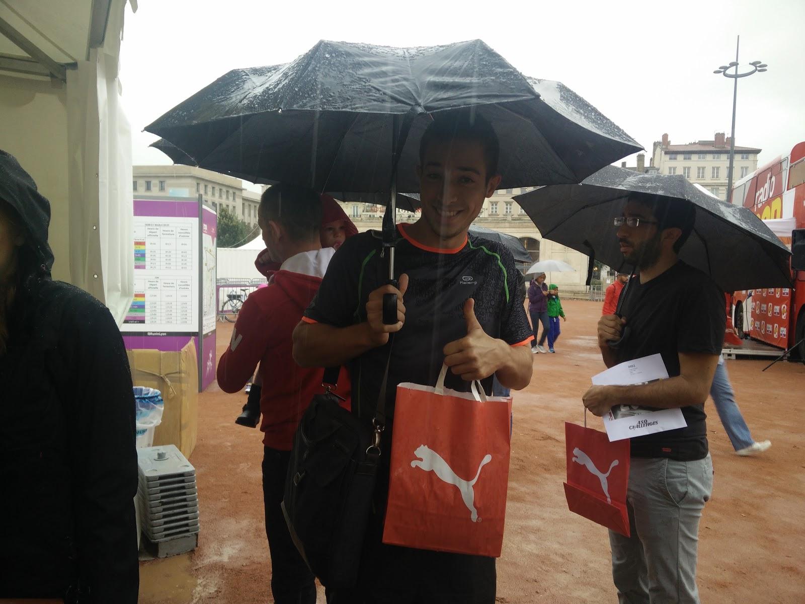Florian sous la pluie