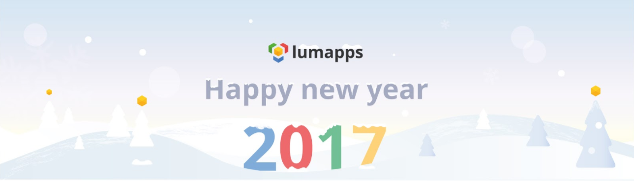 LumApps wishes you a happy new year in 2017