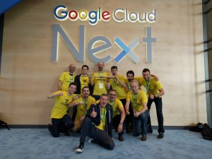LumApps Google Next San Francisco Series A fundraising