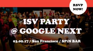 ISV Google Next San Francisco