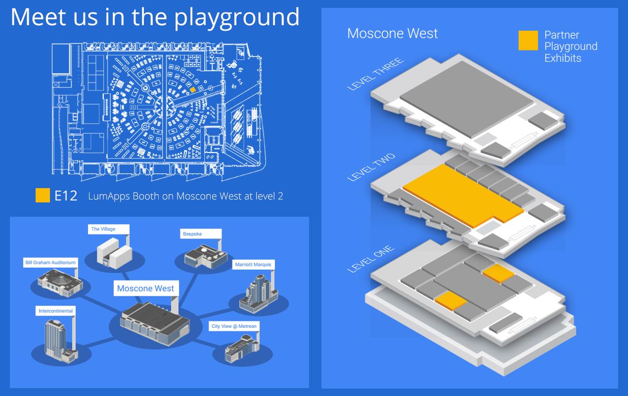 Moscone Center Partner Playground