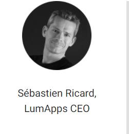 Sebastien Ricard LumApps CEO