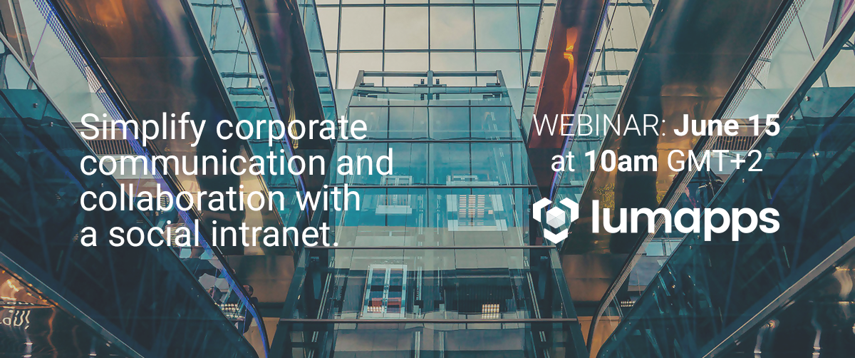 LumApps webinar with Cloudpoint