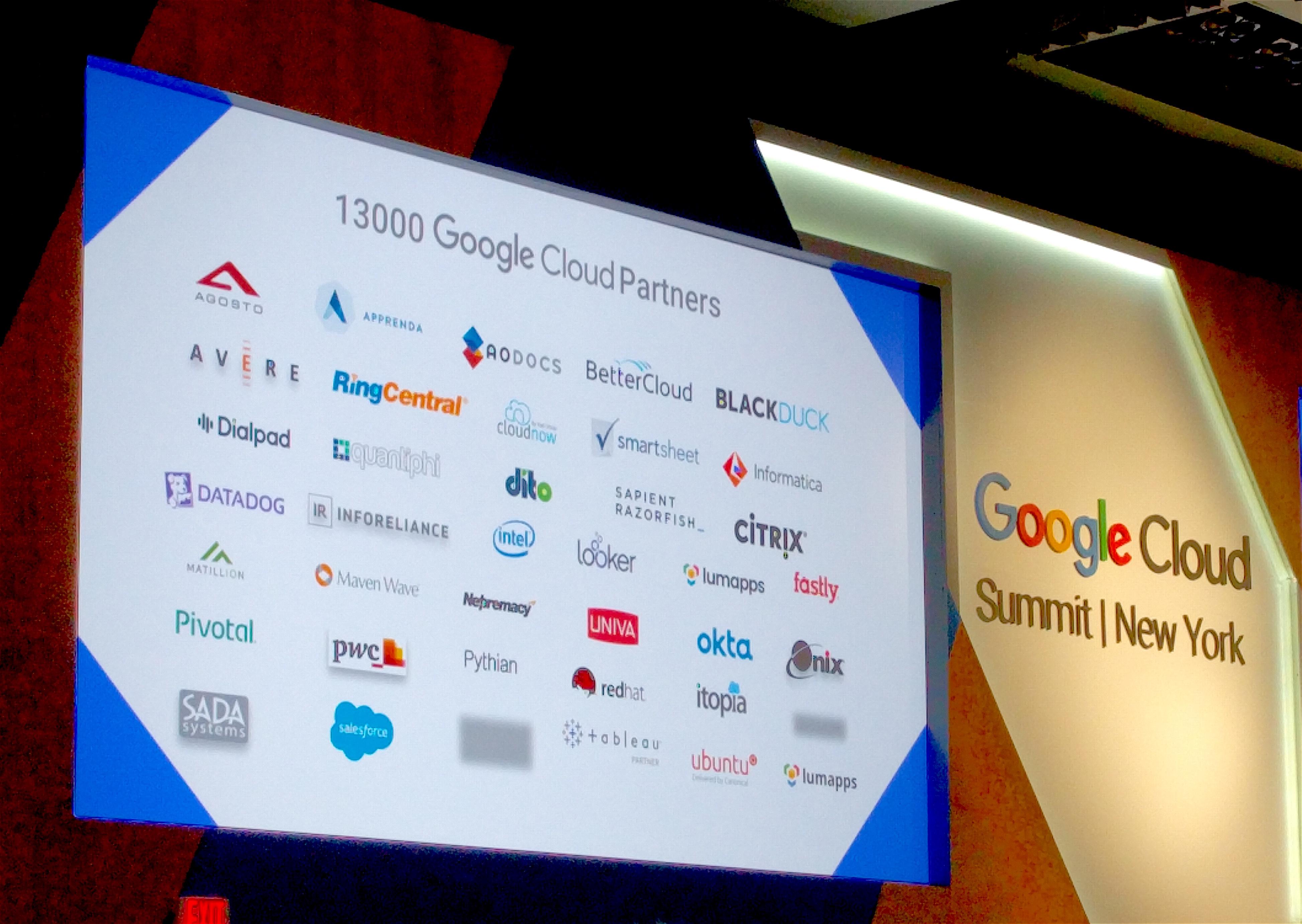 Google Cloud Partners board