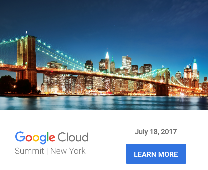 Google Cloud Summit New York