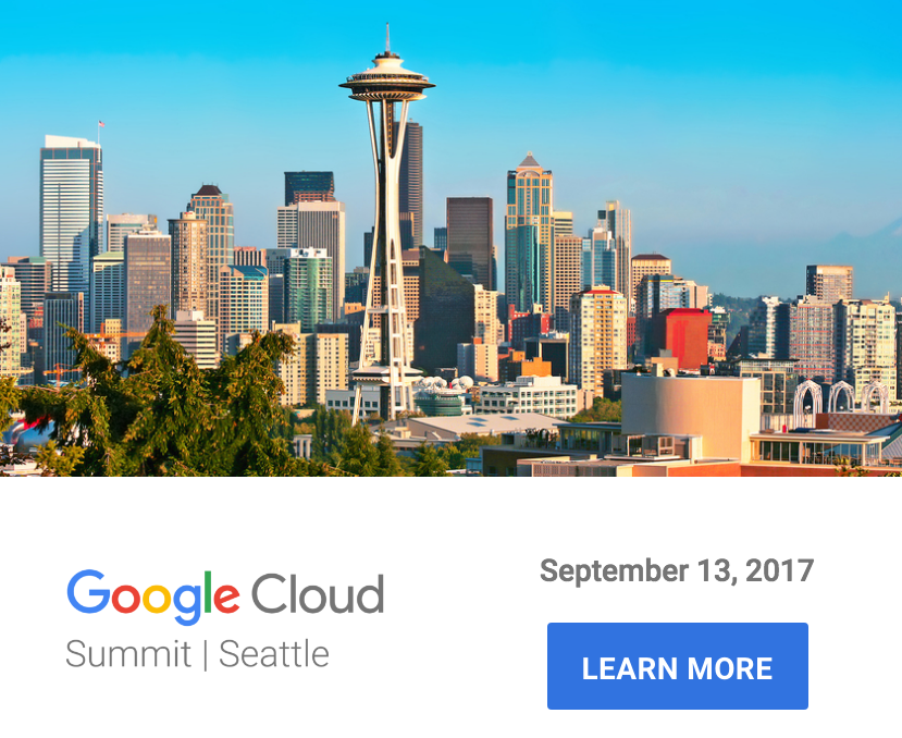 Google Cloud Summit Seattle