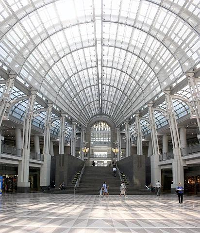 Reagan building atrium