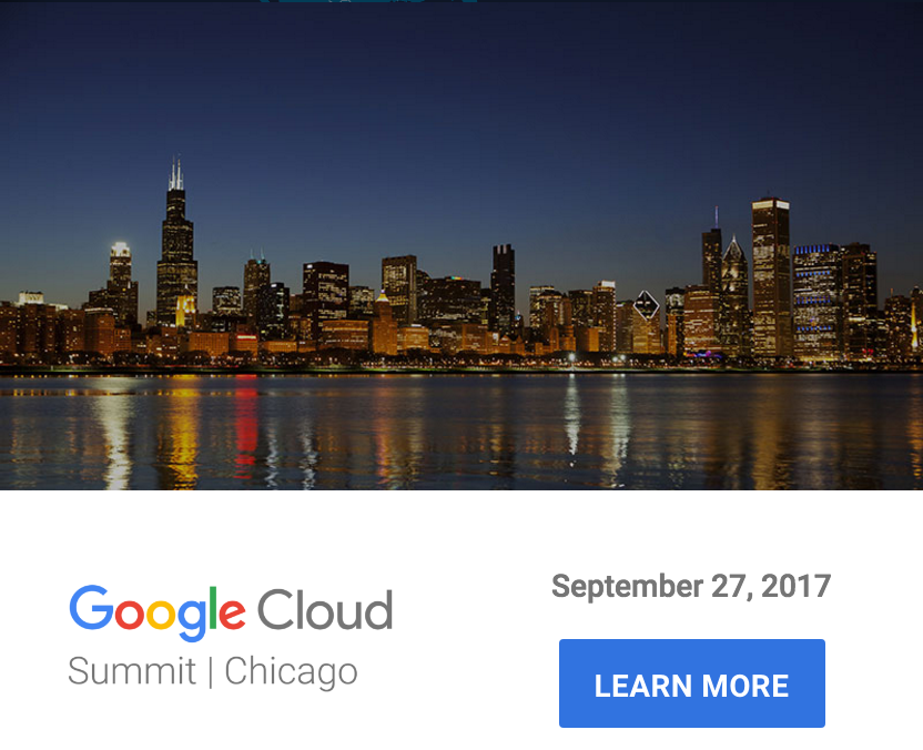 Google Cloud Summit Chicago