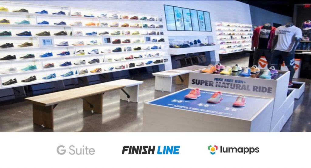 Finish Line webinar: a social intranet for retail