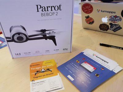 Drone Raffle in Paris