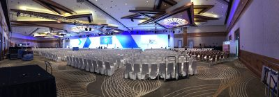 Conference hall inside GCS Singapore